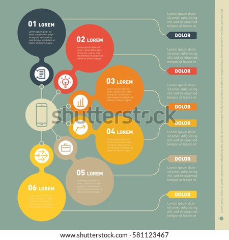 process infographic template 2809 loadtve