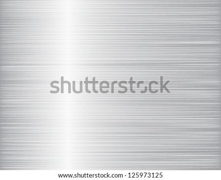 Vector iron texture - stock vector