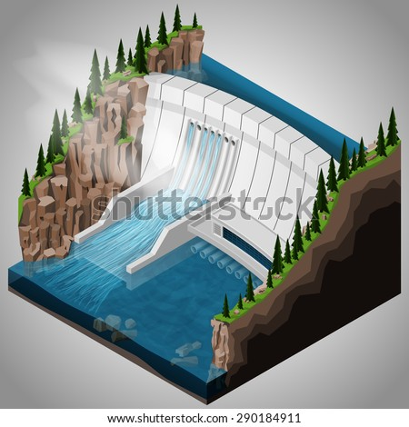 how to make a model of hydroelectricity dam