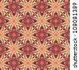 Vector kaleidoscopic pattern - stock vector