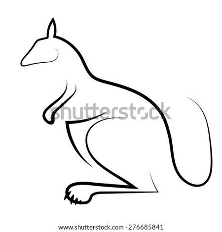 74920783 moreover Ham Slices 127362398 moreover 289802 together with Diagram Of A Badger besides Stock Vector Cat And Dog Contour Simplified Black Silhouettes Isolated On White. on arctic cat symbol
