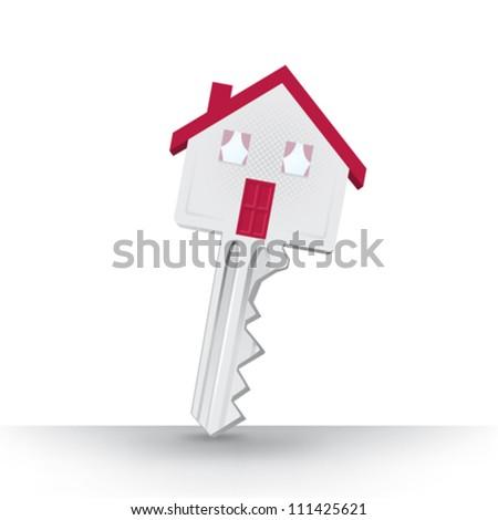 Vector key home house