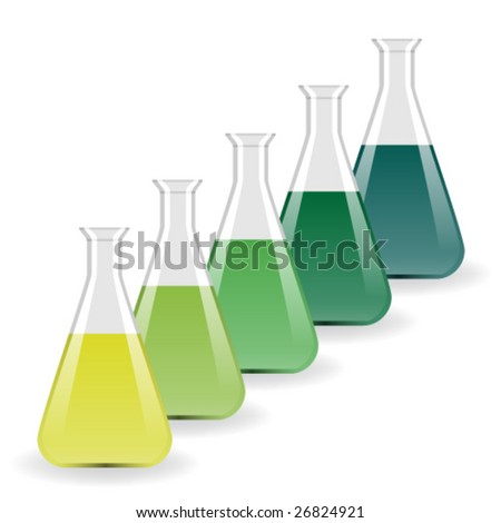 vector laboratory flasks