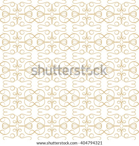 Vector lace abstract seamless pattern. Vintage style background. - stock vector