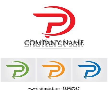 Vector Letter P Logo I...P Logo Name