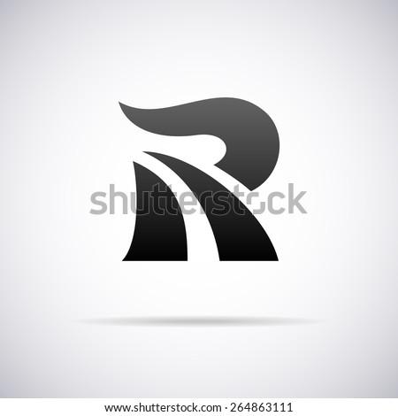 Letter R Logo St...R Design Letter