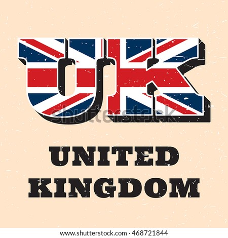 Vector letters uk logo design english stock photo photo vector vector letters uk logo design for english flag england national letter icon template worldwide spiritdancerdesigns Image collections