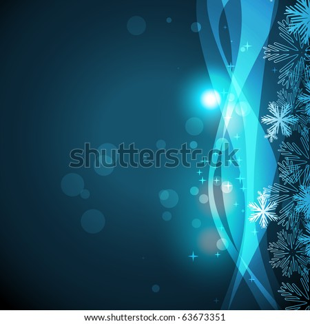 vector light background with wave