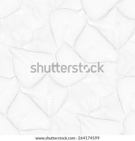 Vector light pattern - geometric seamless simple black and white modern texture - amorphous figures - stock vector