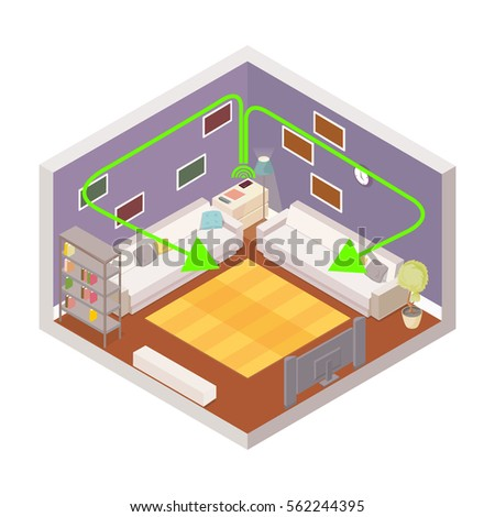 Cartoon Room Stock Images Royalty Free Images Amp Vectors Shutterstock