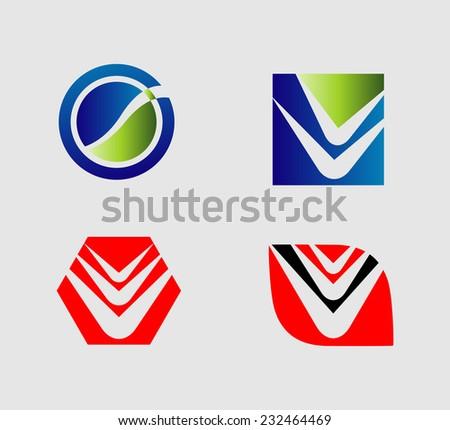 Vector logo & design elements Pack�  - stock vector