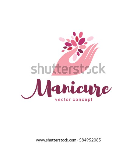 manicure vector stock images royaltyfree images