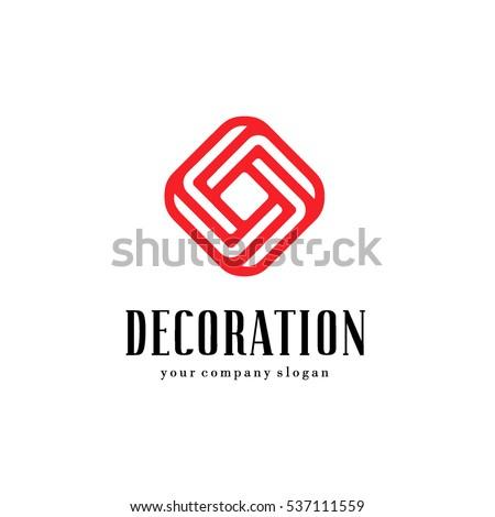 Carpet logo stock images royalty free images vectors for Decoration logo