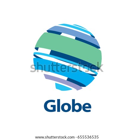 Initial Letter D Digital Logo Design Stock Vector ...