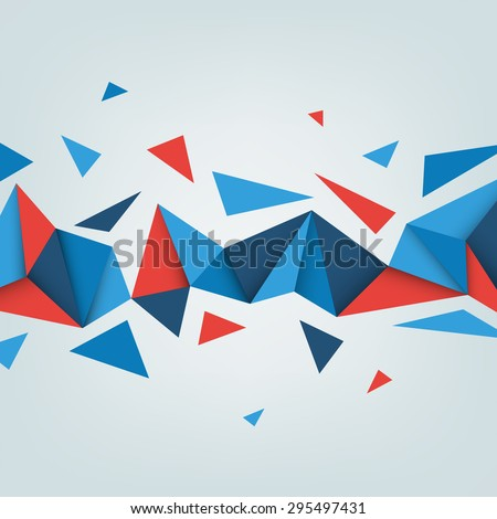 Vector low poly background. Illustration of abstract texture with triangles. Pattern design for banner, poster, flyer.