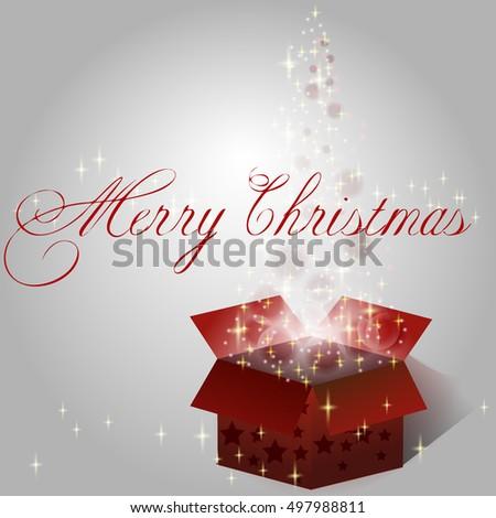 Vector Glass Christmas Tree Your Christmas Stock Vector 502195381 ...