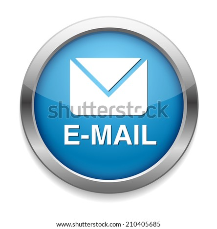 vector mail - stock vector