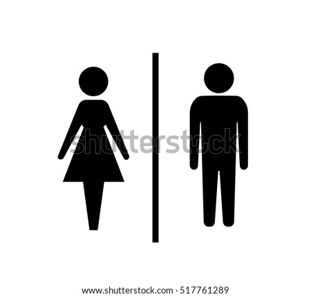 Bathroom Sign Male Vector restroom stock images, royalty-free images & vectors | shutterstock