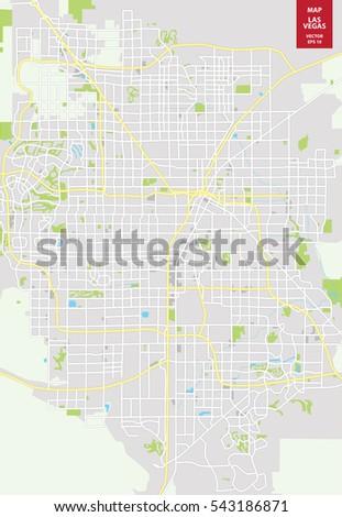 Las Vegas Map Stock Images RoyaltyFree Images Vectors - Las vegas us map
