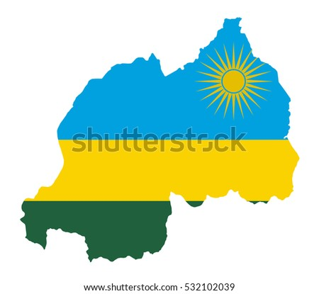 Rwanda Map Stock Images RoyaltyFree Images Vectors Shutterstock - Rwanda map