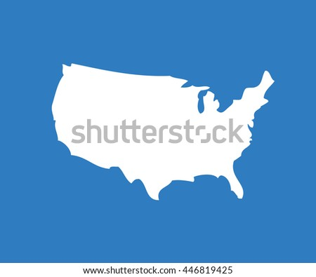 Map Usa Map Concept Stock Vector Shutterstock - Us map independence
