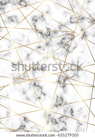 Vector marble background with gold lines. Geometric shapes. Template for your designs, card, invitation, party, birthday, wedding, baby shower, save the date, anniversary. Place your text.