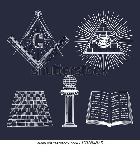 masonic symbol stock photos royalty free images vectors shutterstock. Black Bedroom Furniture Sets. Home Design Ideas