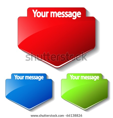 Vector message labels