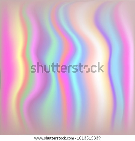 Vector Metallic Holographic Background