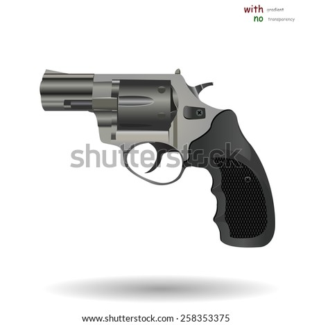 vector model revolver. revo. eps 10. - stock vector