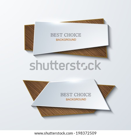 Vector moder banners element design. Modern background. Eps10 - stock vector