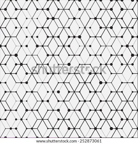 Vector modern abstract background connect - stock vector