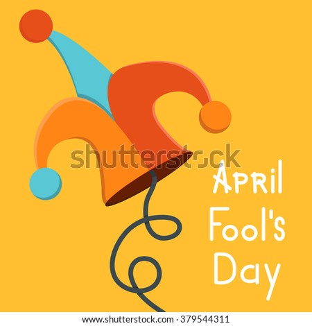 Vector modern april fools day. Eps10 illustration - stock vector