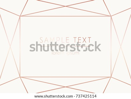 Vector modern design template wedding birthday stock vector vector modern design template for wedding or birthday invitation brochure poster or business card reheart Image collections