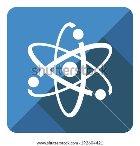 Vector modern flat blue  icon - stock vector