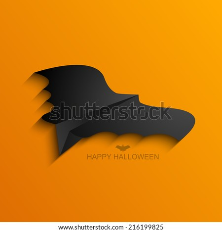 Vector modern halloween background. Eps 10 illustration - stock vector