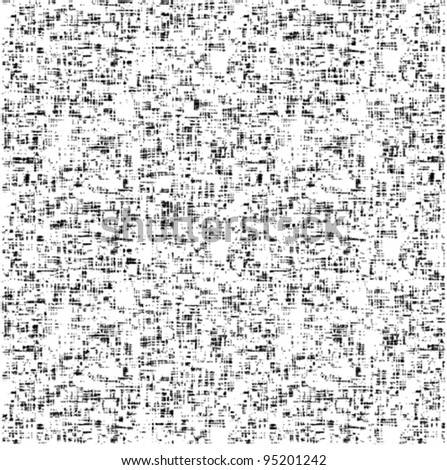 Vector monochrome texture - stock vector