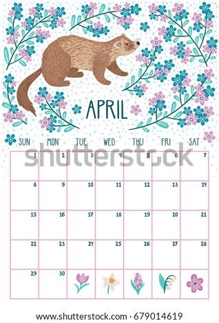 March 2018 Calendar Fun Holidays