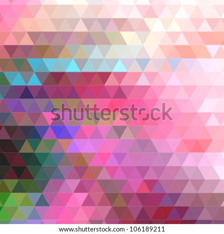 vector mosaic background - stock vector