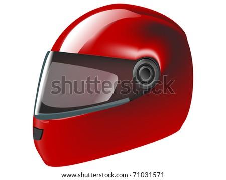 Motorcycle Helmet Vector Front Vector Motorcycle Bike Helmet