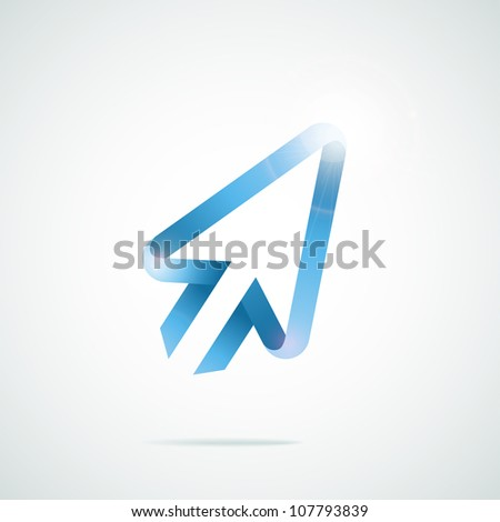 Vector mouse arrow pointers cursor - stock vector