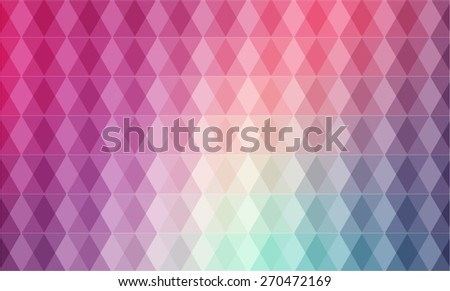 Vector:  Multicolor Background. Composed of Geometric Figures - stock vector