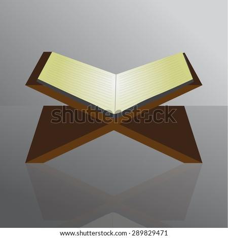 Vector Muslim Qur'an EPS.10 - stock vector