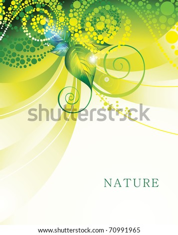 Vector Natural Design eps10
