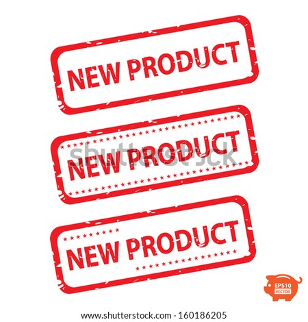 Vector: New product red tag collection. EPS10.
