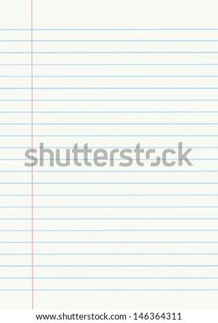 Vector notebook paper - stock vector