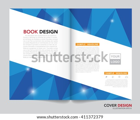 Vector of book cover,brochure,flyer,annual report template.Illustration eps10 - stock vector