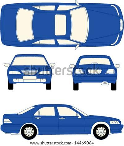vector of Car - stock vector