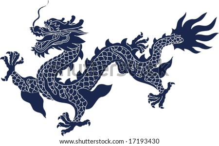 Ancient Dragon Drawings of Chinese Ancient Dragon
