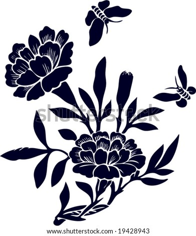 Vector of Chinese Traditional Artistic Pattern - stock vector